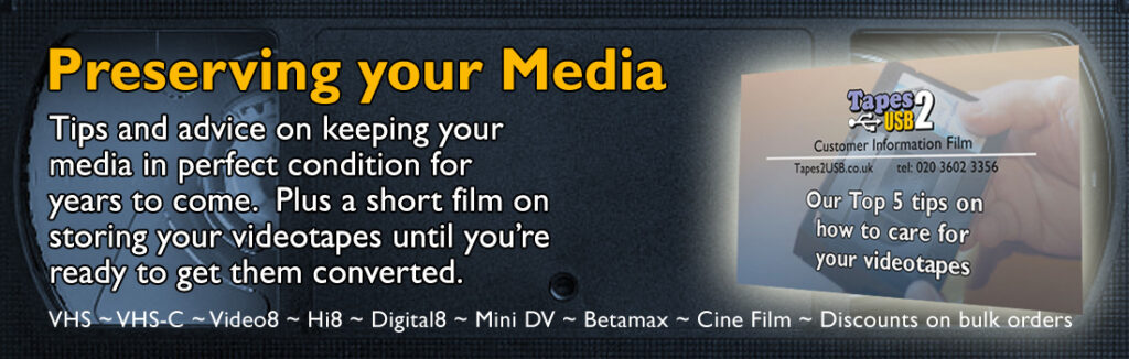videotape to DVD Preserving your media