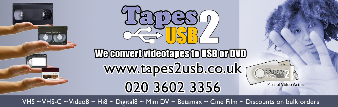 Tapes2USB video conversions