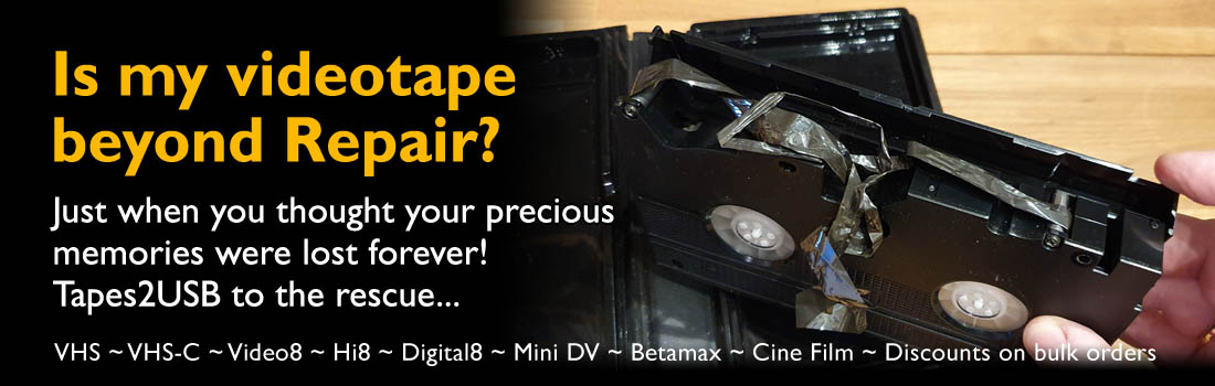 Videotape Repair What can we do