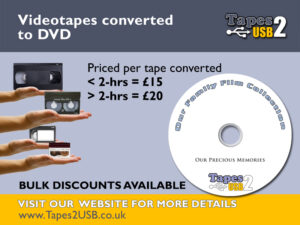 Convert tapes to DVD