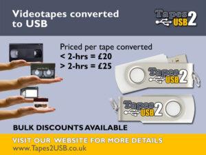 Convert videos to USB