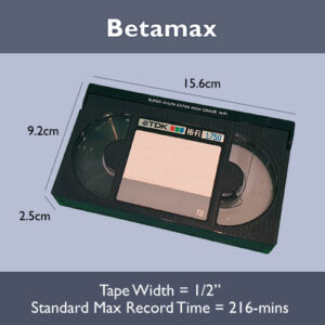 Betamax Transfer to USB or DVD