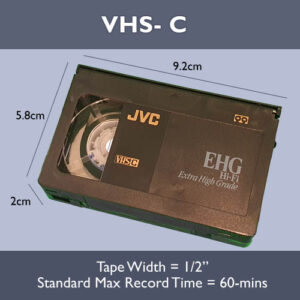 VHS-C Transfer to USB or DVD